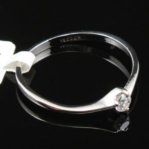 Jewellery ring, Silver plated, 1.8cm, 1  piece, (JR70)